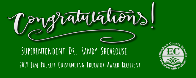 Jim Puckett Outstanding Educator Award