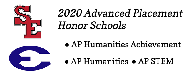 ECHS and SEHS Named AP Honor Schools for 2020