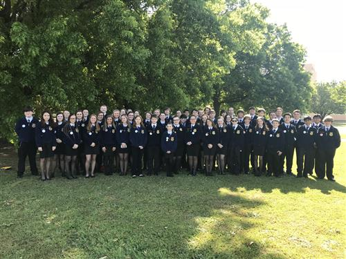 Effingham County Schools represented well at 90th FFA Convention