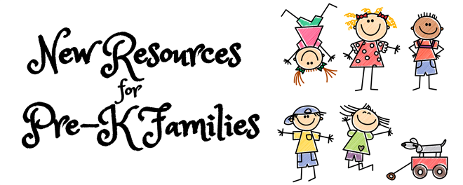 New Online Resources for Pre-K Families
