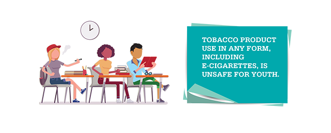 Tobacco use is unsafe in any form