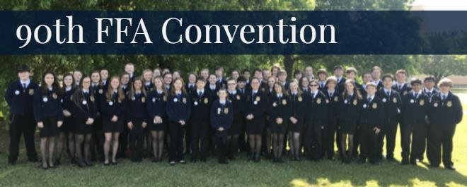 ECSD MAKES ITS MARK AT THE 90TH ANNUAL GEORGIA FFA ASSOCIATION CONVENTION