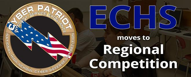 ECHS, SEHS Named Top Two in CyberPatriot State Competition