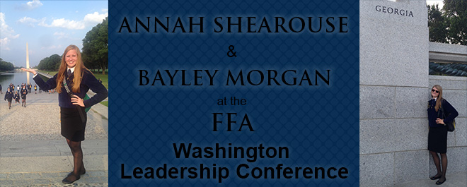 FFA Members Attend Annual Washington Leadership Conference