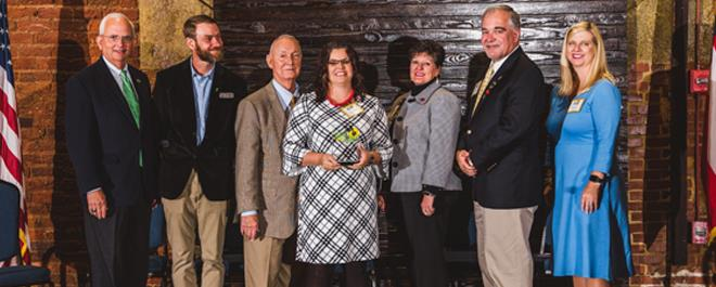 Effingham County Schools Honored for Farm to School Excellence at 2018 Golden Radish Awards