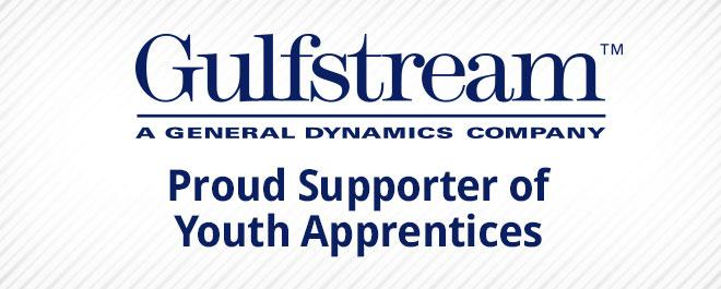 Gulfstream Supports Youth Apprentices