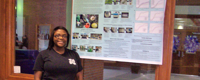Alford Captures Second Prize at the UGA Young Scholars Program