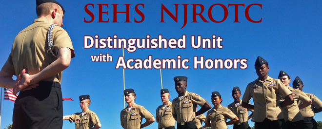 SEHS NJROTC Achieves High Honors