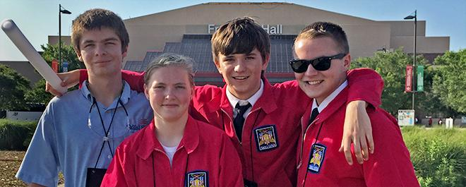 SkillsUSA Competitors Return from Nationals