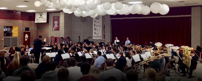 Stetson University Symphonic Band Performs at SEHS
