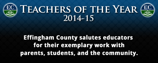 2014-15 Teachers of the Year