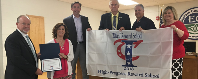 ECSD TITLE I REWARD SCHOOLS HONORED
