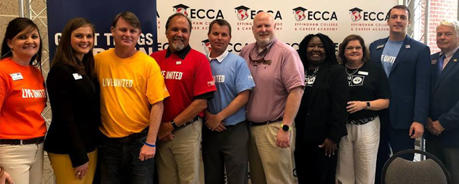 United Way of the Coastal Empire - Effingham 2018 Campaign Kick-off