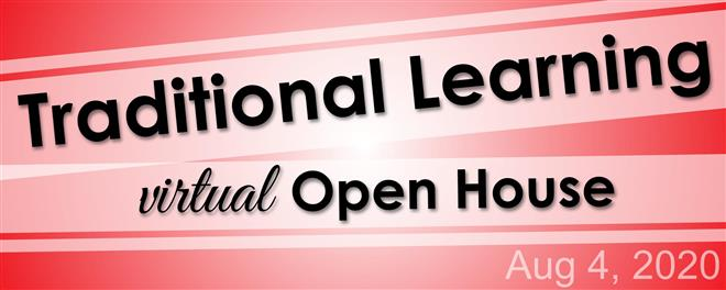 Virtual Open House- August 4th