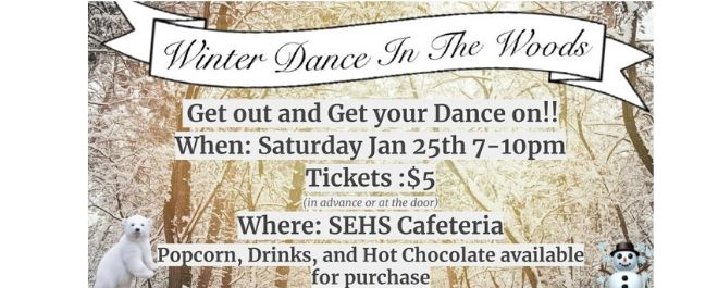 Winter Dance~ Saturday January 25th