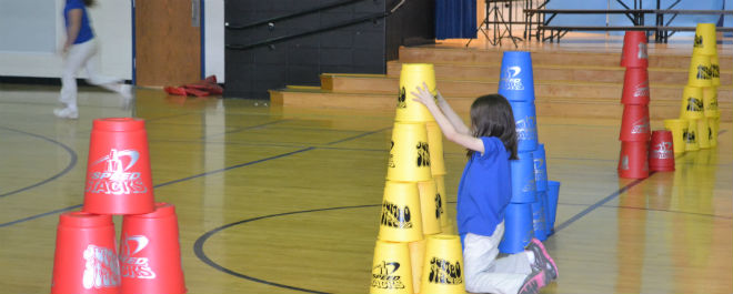 Cup Stacking Day 2012