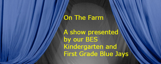 Kinder & 1st Grade Musical