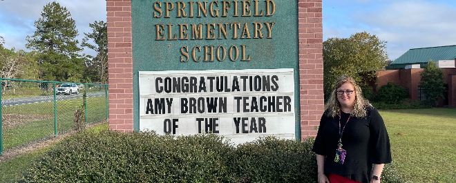 SES Teacher of the Year: Amy Brown