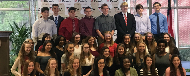 Congratulations to ECCA STEM Students Inducted into the National Honor Society