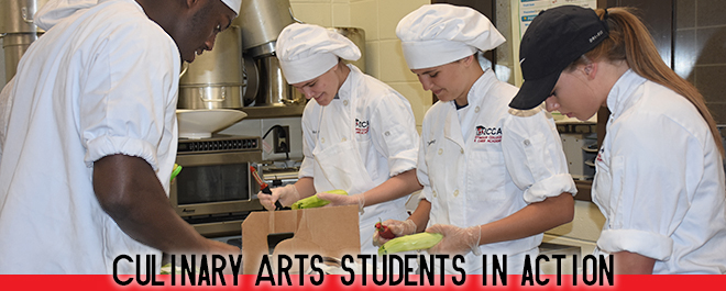 Culinary Arts Students Participate in the International Arts Festival at BES