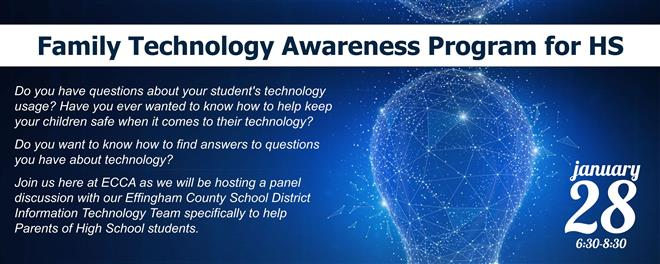 Family Technology Awareness Program for High School