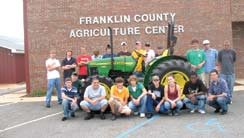 Franklin Co. Agriculture Students
