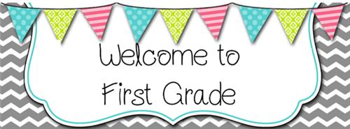 Turner, Suzanne - First Grade / Welcome