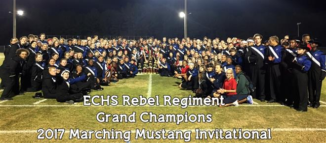 Rebel Regiment Grand Champions!