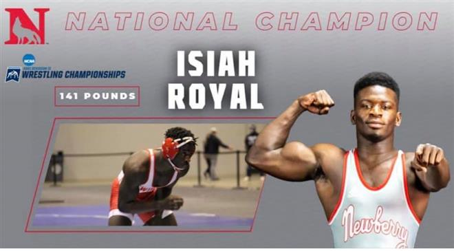 Congratulations to former Rebel Isiah Royal