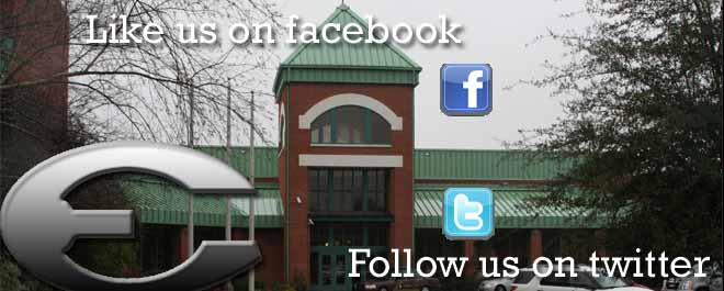 Follow us on Facebook, Twitter