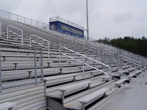 Home side football stands