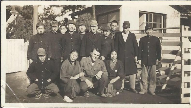 My grandfather in Japan.