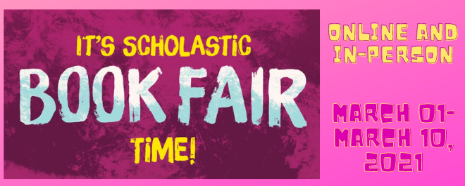 ECMS Book Fair: In-person and online!