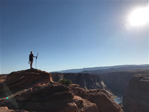 Anna at Horseshoe bend