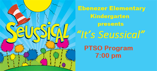 It's Seussical! and PTSO