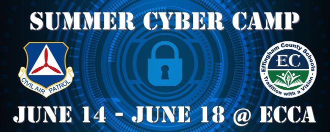 cyber summer camp June 14-18 at ECCA