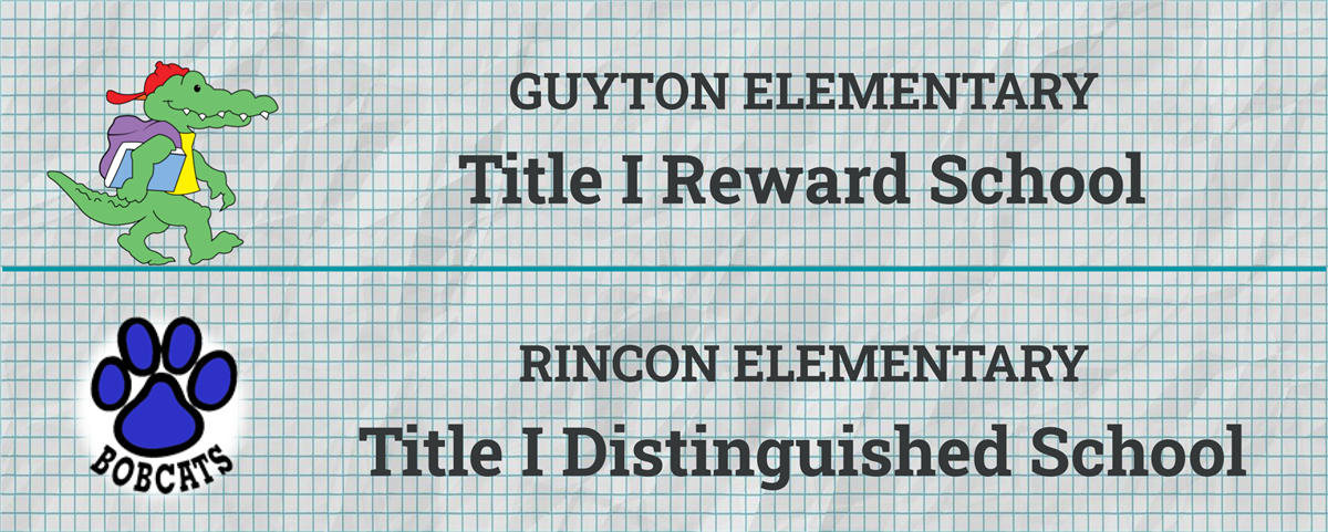 GES and RES Title I Reward and Distinguished Schools