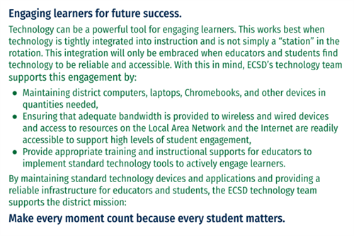 Engaging learners for future success.