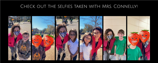 Selfie's with the Principal!