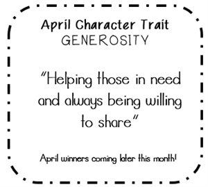 April Character Trait