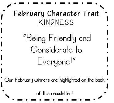 February Character Trait