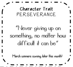 Character Trait for March