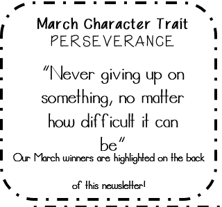 March Character Trait