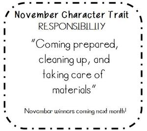 November's Character Trait