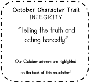 October Character Trait