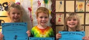 Student of the Month: Pre-K