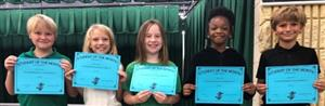 Student of the Month- Third Grade