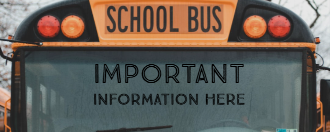 Student Bus Information