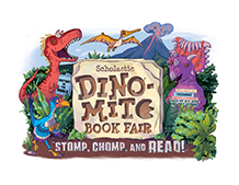 The Dino-Mite Book Fair is coming to Marlow Media Center February 13th - February 25th!