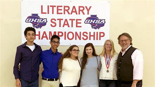 SEHS Literary Team at State Competition